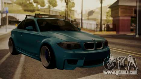 BMW 1M E82 with Sunroof for GTA San Andreas