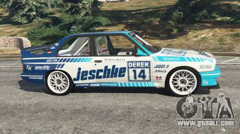 GTA 5 BMW M3 (E30) 1991 [Jeschke] v1.2 left side view