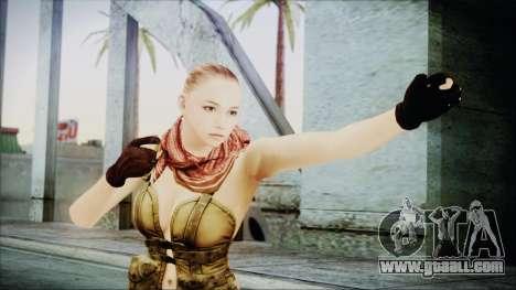Mila Short Hair from Counter Strike v2 for GTA San Andreas
