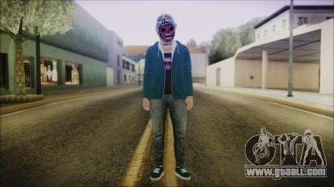 DLC Halloween GTA 5 ZombieCraneo for GTA San Andreas second screenshot