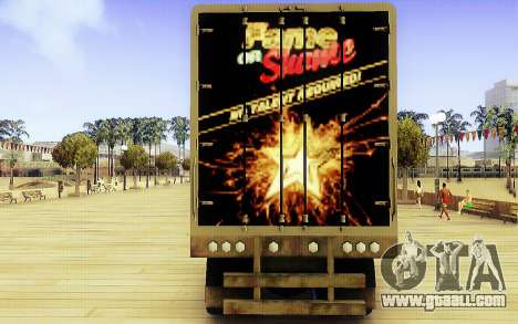 GTA V Fame or Shame Trailer for GTA San Andreas back left view