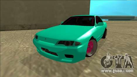 Nissan Skyline R32 for GTA San Andreas back left view