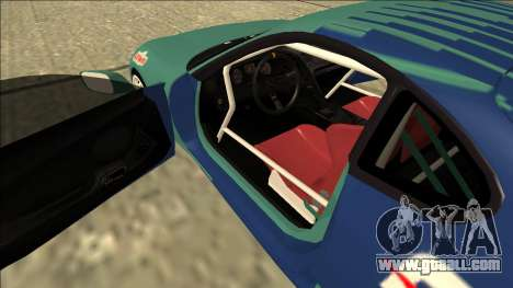 Toyota Supra Falken Drift for GTA San Andreas inner view