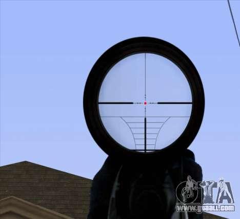 Sniper Scope v2 for GTA San Andreas seventh screenshot