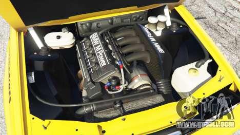 BMW M3 (E30) 1991 [10 strikes] v1.2 for GTA 5