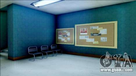 New Interior for SFPD for GTA San Andreas