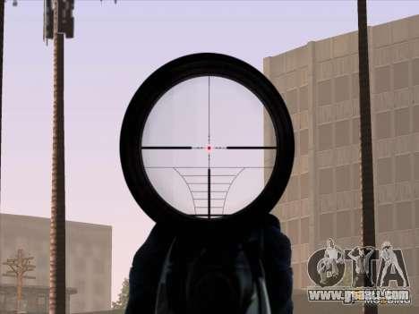 Sniper Scope v2 for GTA San Andreas fifth screenshot