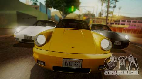 RUF CTR Yellowbird (911) 1987 HQLM for GTA San Andreas