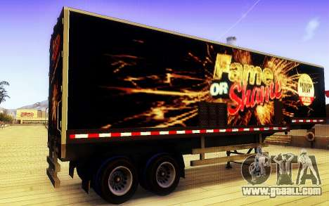 GTA V Fame or Shame Trailer for GTA San Andreas left view