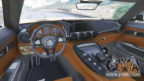 GTA 5 Mercedes-Benz AMG GT 2016 v2.0 right side view
