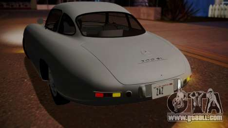 Mercedes-Benz 300 SL (W194) 1952 IVF АПП for GTA San Andreas right view