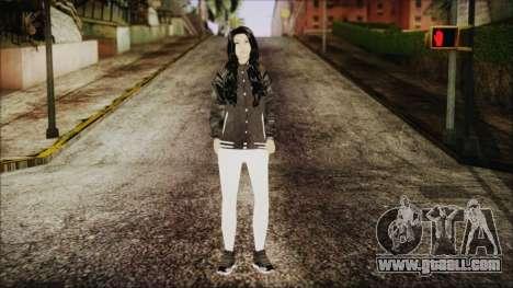 Home Girl White Pants for GTA San Andreas second screenshot