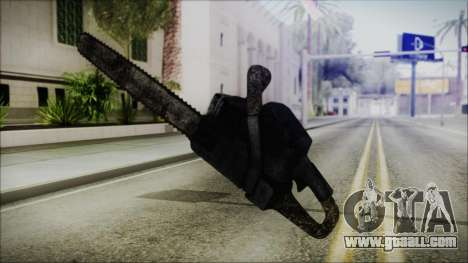 Helloween Chainsaw for GTA San Andreas third screenshot