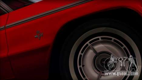 Chevrolet Impala SS 1964 Final for GTA San Andreas back view