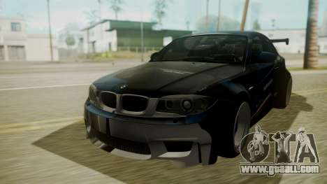 BMW 1M E82 without Sunroof for GTA San Andreas upper view