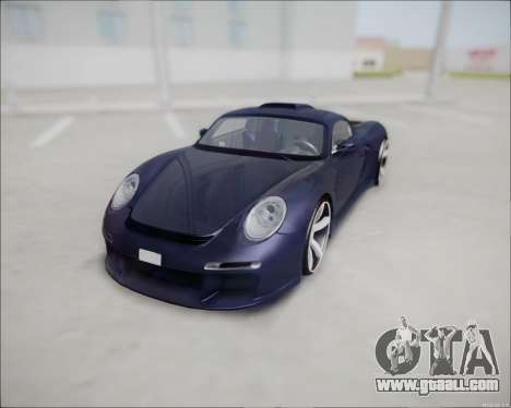 Ruf CTR 3 2015 for GTA San Andreas back view