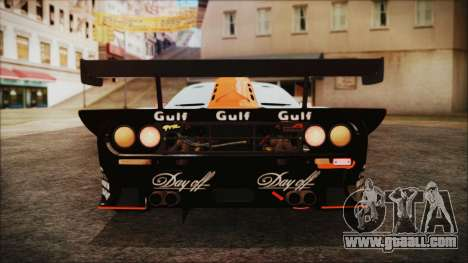 McLaren F1 GTR 1998 for GTA San Andreas side view