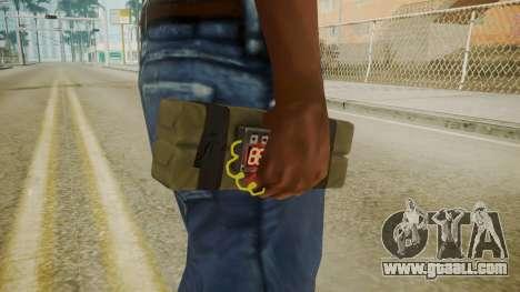GTA 5 Satchel for GTA San Andreas third screenshot