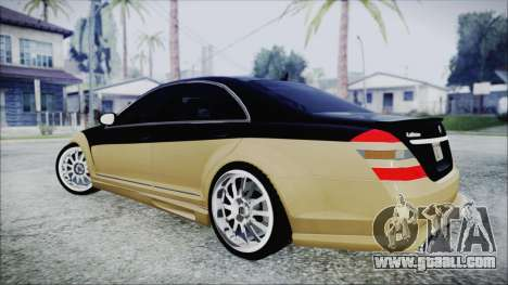 Carlsson Aigner CK65 RS v1 for GTA San Andreas left view