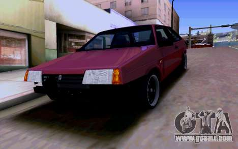 VAZ 2108 V2 for GTA San Andreas bottom view