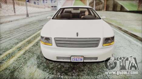 GTA 5 Albany Washington IVF for GTA San Andreas right view