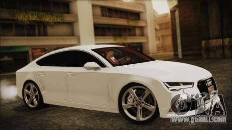 Audi RS7 Sportback 2015 for GTA San Andreas right view