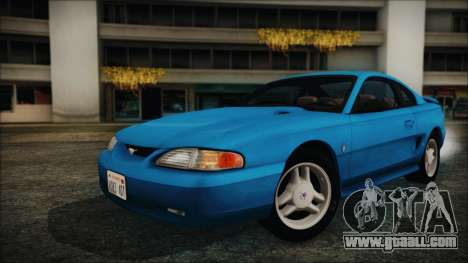 Ford Mustang GT 1993 v1.1 for GTA San Andreas