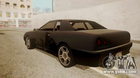 Elegy FnF Skins for GTA San Andreas side view