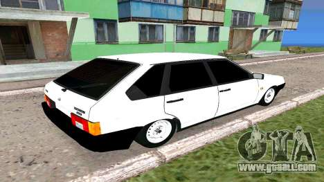 2109 THE БПАN for GTA San Andreas back left view