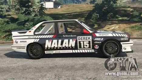 BMW M3 (E30) 1991 [Nalan] v1.2 for GTA 5