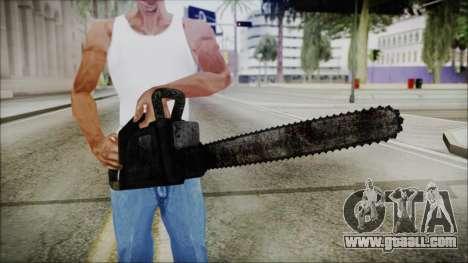 Helloween Chainsaw for GTA San Andreas