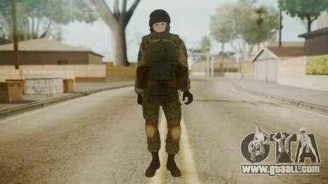 Spetsnaz Operator - 2010s for GTA San Andreas