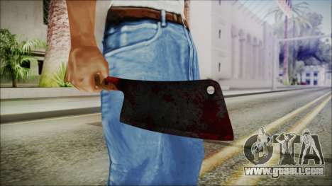 Helloween Butcher Knife Square for GTA San Andreas third screenshot