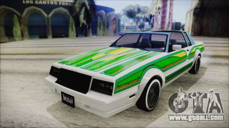 GTA 5 Willard Faction Custom IVF for GTA San Andreas inner view