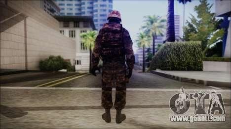 Chinese Army Desert Camo 1 for GTA San Andreas third screenshot