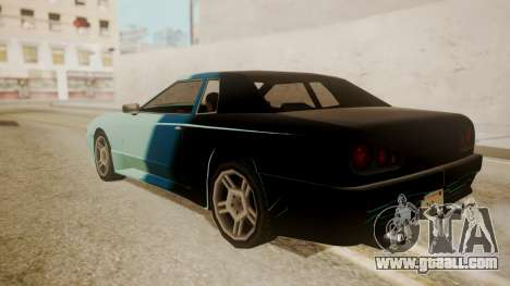 Elegy FnF Skins for GTA San Andreas bottom view