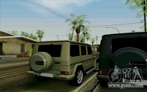 Mercedes-Benz G500 1999 for GTA San Andreas right view