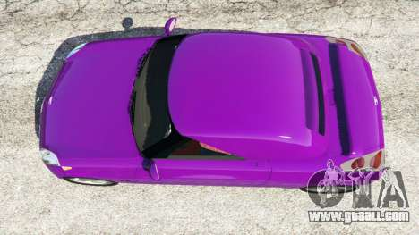 GTA 5 Daewoo Joyster Concept 1997 back view