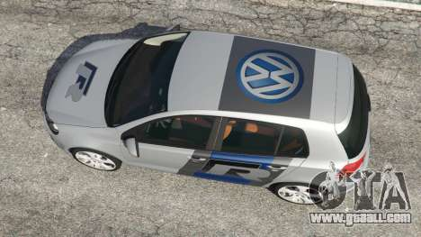 GTA 5 Volkswagen Golf Mk6 v2.0 [WRC Polo] back view