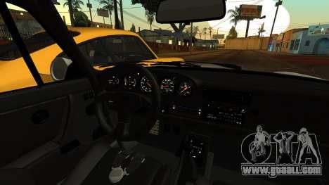 RUF CTR Yellowbird (911) 1987 HQLM for GTA San Andreas right view