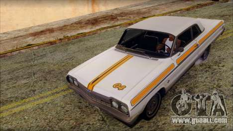 Chevrolet Impala SS 1964 Final for GTA San Andreas engine