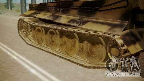 Panzerkampfwagen VI Tiger Ausf. H1 for GTA San Andreas back left view