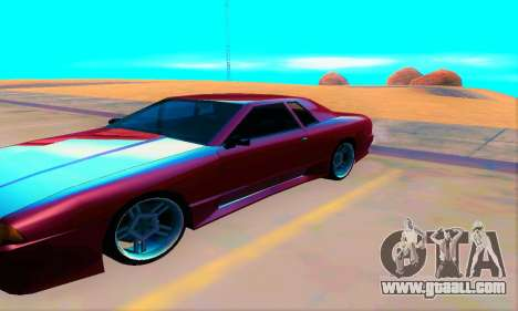 Elegy From Life for GTA San Andreas left view