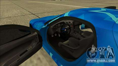Mazda RX-7 Drift Blue Star for GTA San Andreas side view