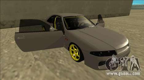 Nissan Skyline R33 Drift for GTA San Andreas engine