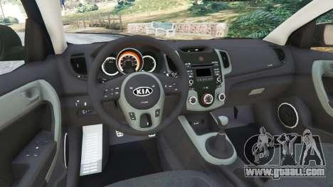 GTA 5 Kia Forte Koup SX [Beta] rear right side view