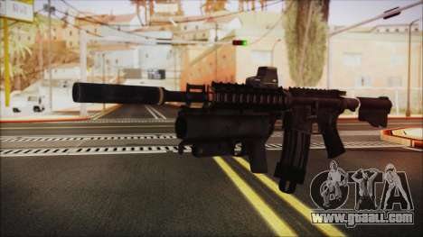M4 SpecOps for GTA San Andreas