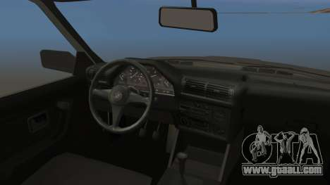 BMW 325i E30 for GTA San Andreas back view