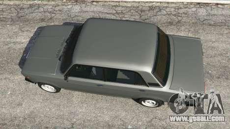 GTA 5 VAZ-2107 [Riva] back view