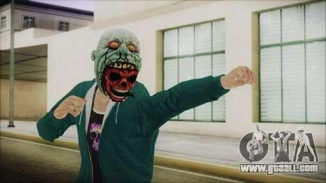 DLC Halloween GTA 5 ZombieCraneo for GTA San Andreas